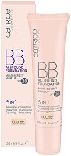 Catrice BB Allround Foundation 6 in 1 - SPF 30 - BB фон дьо тен 6 в 1 - крем