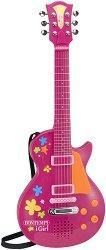 Електронна рок китара - Детски музикален инструмент - играчка