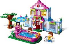 """Къщата на мечтите - Детски конструктор от серията """"Trendy City"""" - играчка"""