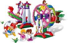 """Увеселителен парк - Детски конструктор от серията """"Trendy City"""" - играчка"""