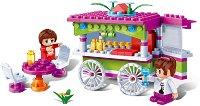 """Щанд с лакомства - Детски конструктор от серията """"Trendy City"""" - играчка"""