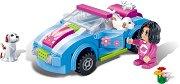 """Автомобил - Детски конструктор от серията """"Trendy City"""" -"""