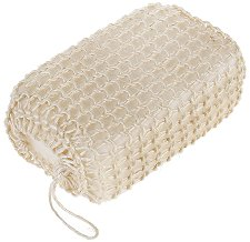Гъба за баня с оплетка от естествен сизал - гел
