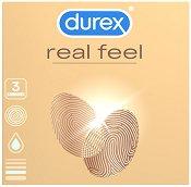 Durex Real Feel - Презервативи в опаковки от 3 ÷ 16 броя -
