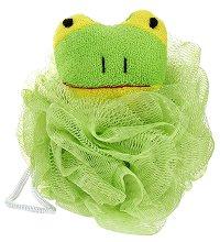 Детска мрежеста гъба за баня - Жабче -