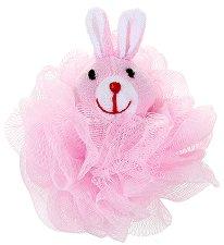 Детска мрежеста гъба за баня - Зайче -