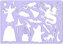 Фигурален шаблон - Вещици