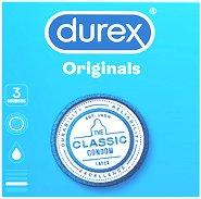 Durex Originals Classic - Презервативи в опаковка от 3 броя -
