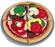 Направи си пица - Детски комплект с филц -