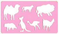 Фигурален шаблон - Екзотични животни
