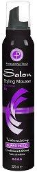 """Professional Touch Salon Styling Mousse Super Hold - Пяна за коса за силна фиксация и обем от серията """"Salon"""" -"""
