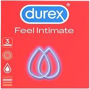 Durex Feel Intimate - Супер фини презервативи в опаковки от 3 и 12 броя - продукт