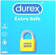 Durex Extra Safe - Опаковки от 3 и 18 броя - гел