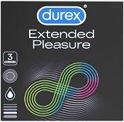 Durex Extended Pleasure - Опаковка от 3 броя -