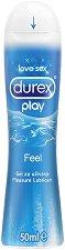 Durex Play Feel - Интимен лубрикант с овлажняващ ефект - олио