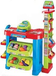 Детски супермаркет - Със светлинни и звукови ефекти -
