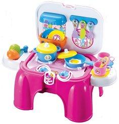 Детска кухня - Със светлинни и звукови ефекти -