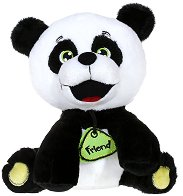 Панда - Плюшена играчка - количка