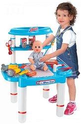 Детски лекарски кабинет - Superior Nurse - Комплект с инструменти и консумативи - играчка