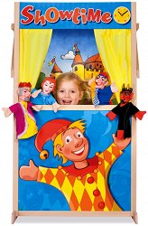 Куклен театър - Детска дървена играчка - играчка