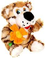 Тигърче с цвете - Плюшена играчка -