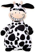 Кравичка - Усмихни се - Плюшена играчка със звуков ефект - играчка