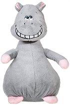 Хипопотам - Усмихни се - Плюшена играчка със звуков ефект -