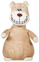 Мече - Усмихни се - Плюшена играчка със звуков ефект - играчка