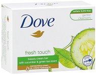"""Dove Go Fresh Fresh Touch Cream Bar - Крем сапун с краставица и зелен чай от серията """"Go Fresh - Fresh Touch"""" - афтършейв"""