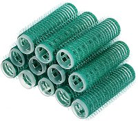Залепващи ролки за коса - Комплект от 12 броя - гел