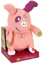 Музикално прасенце - Погали ме по коремчето - Танцуваща и пееща плюшена играчка - играчка