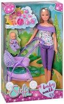 Стефи с бебе - кукла