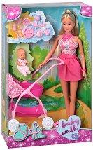 """Стефи с бебе - Кукла с аксесоари от серията """"Steffi Love"""" - кукла"""