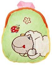 Детска плюшена раница - Овчица - детски аксесоар