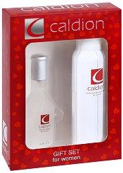 Подаръчен комплект за жени - Caldion - Парфюм и дезодорант - продукт