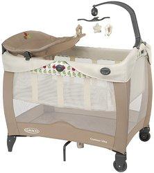 Сгъваемо бебешко легло на две нива - Contour Vibe - Комплект с аксесоари -