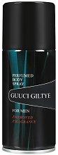 Мъжки парфюм дезодорант - Guuci Giltye - фон дьо тен