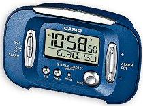 """Настолен часовник Casio - DQD-70B-2EF - От серията """"Wake Up Timer"""""""
