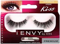"""Мигли от естествен косъм - Au Naturale 02 - От серията """"Kiss i-Envy"""" - спирала"""