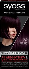 """Syoss Color Classic Permanent Coloration - Трайна крем боя за коса от серията """"SalonPlex"""" - продукт"""