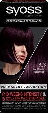 """Syoss Color Classic SalonPlex - Трайна крем боя за коса от серията """"SalonPlex"""" - гъба за баня"""