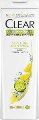 Clear Anti-Dandruff Scalp Oil Control Shampoo - Шампоан против пърхот за мазна коса с цитрусов аромат - пяна