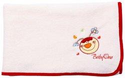 Детско микрофибърно одеяло - Усмивка - Размер 90 x 110 cm -