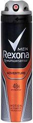 Rexona Men Adventure Anti-Perspirant - Дезодорант за мъже против изпотяване - продукт