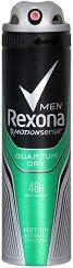 Rexona Men Quantum Dry Anti-Perspirant - Дезодорант за мъже против изпотяване -