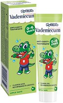 My Little Vademecum Green Apple Toothpaste - Детска паста за млечни зъби с вкус на зелена ябълка - шампоан