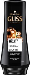 "Gliss Ultimate Repair Conditioner - Балсам за суха и увредена коса от серията ""Ultimate Repair"" -"