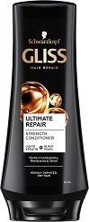 "Gliss Ultimate Repair Conditioner - Балсам за суха и увредена коса от серията ""Ultimate Repair"" - продукт"