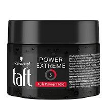 Taft Power Gel Extreme - Гел за коса за екстремно силна фиксация - душ гел