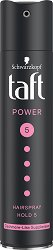 Taft Power Cashmere Touch Mega Strong Hairspray - Лак за коса за мега силна фиксация - пила